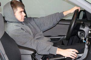 autostoel instellen